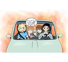 Car Trip - Tsubasa Reservoir Chronicle  Photographic Print