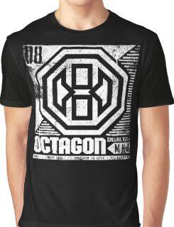 Octagon MMA Press Logo Graphic T-Shirt