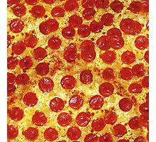 Pepperoni Pizza Photographic Print
