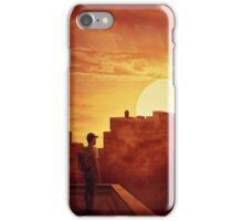 sunset mystery iPhone Case/Skin