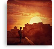 sunset mystery Canvas Print