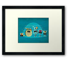 Usual Suspects Framed Print
