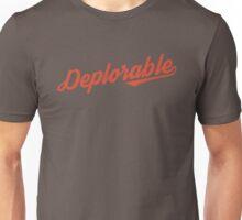 Deplorable Script Unisex T-Shirt