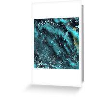 Dirk Hartog Island Australia Satellite Image  Greeting Card