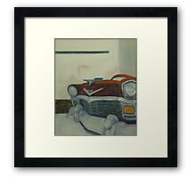 Chevy-astract impressionism Framed Print