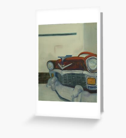 Chevy-astract impressionism Greeting Card