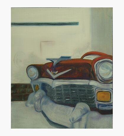Chevy-astract impressionism Photographic Print