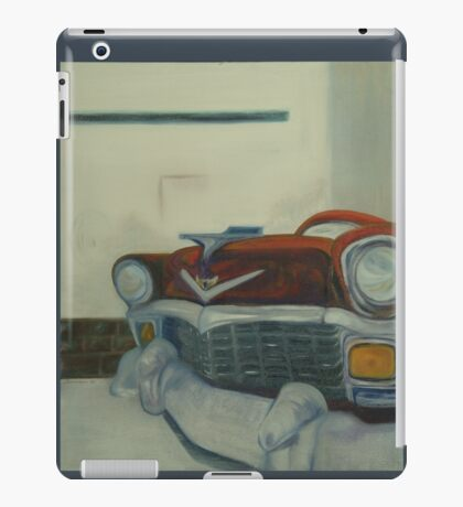 Chevy-astract impressionism iPad Case/Skin