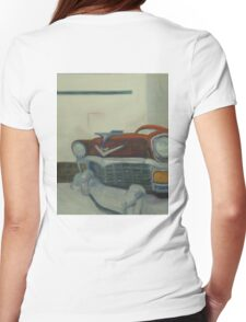 Chevy-astract impressionism Womens Fitted T-Shirt
