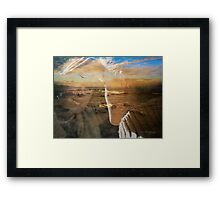 Before the storm ... Framed Print