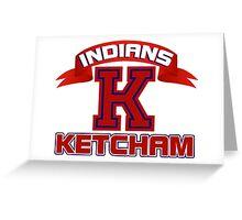 Ketcham Indians Greeting Card