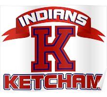 Ketcham Indians Poster