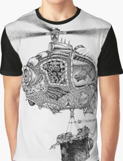 Weebits Flying Fish Excursion Graphic T-Shirt