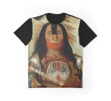 Buffalo Bull's Back Fat-War Chief of The Blood Indians Graphic T-Shirt
