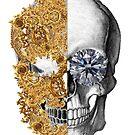 Baroque Skull by Buruiana Razvan
