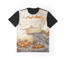 Whispers in the Pumpkin Patch Graphic T-Shirt