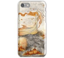Whispers in the Pumpkin Patch iPhone Case/Skin