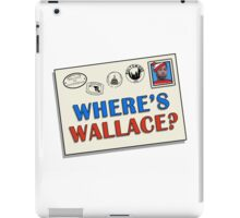 Where's Wallace? (The Wire) iPad Case/Skin