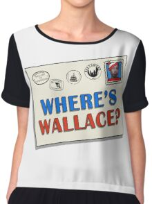Where's Wallace? (The Wire) Chiffon Top