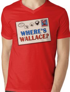 Where's Wallace? (The Wire) Mens V-Neck T-Shirt