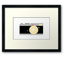 Camera Art Framed Print