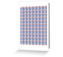 Serene Plaid Greeting Card