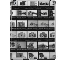 Black and White Contact Sheet iPad Case/Skin