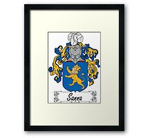 Sanna Coat of Arms (di Sardinia) Framed Print