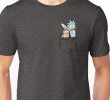 Rick and Morty pocket V2. Unisex T-Shirt