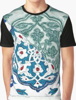 Turkish Tile Graphic T-Shirt
