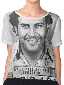 Pablo Escobar Chiffon Top