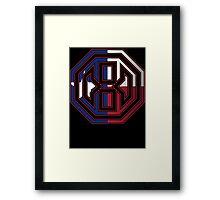 Octagon MMA Texas Logo Framed Print