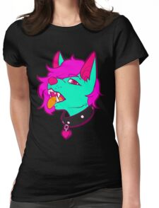 Furry Trash Womens Fitted T-Shirt