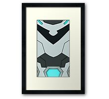 Paladin Armour - BLACK Framed Print