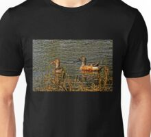 Northern Shoveler Pair Unisex T-Shirt