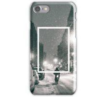 The 1975 Night Time Rectangle iPhone Case/Skin