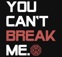 Octagon MMA You Can't Break Me One Piece - Short Sleeve