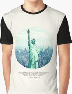 Alexis de Tocqueville Quote Graphic T-Shirt