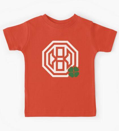 Octagon St. Patrick's Day Logo Kids Tee