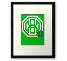 Octagon St. Patrick's Day Logo Framed Print