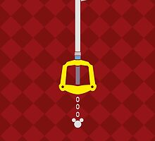 Kingdom Hearts Keyblade by HealerDoc