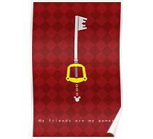 Kingdom Hearts Keyblade Poster