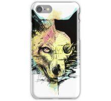 wulf in colour iPhone Case/Skin