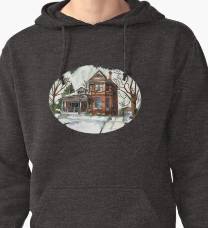 Victorian in The Avenues Pullover Hoodie