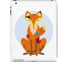 Retro fox iPad Case/Skin