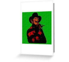 Freddy Greeting Card