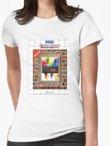 Master System Masterpieces podcast Womens Fitted T-Shirt