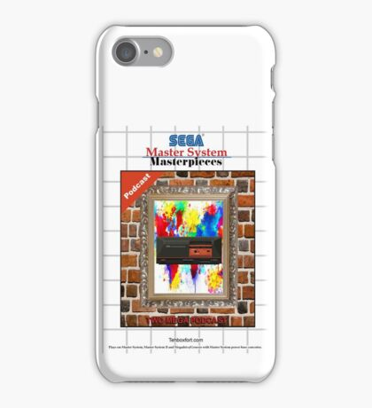 Master System Masterpieces podcast iPhone Case/Skin