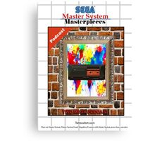 Master System Masterpieces podcast Canvas Print