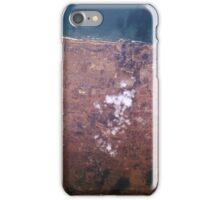 Casablanca Mohammedia Morocco Satellite Image iPhone Case/Skin